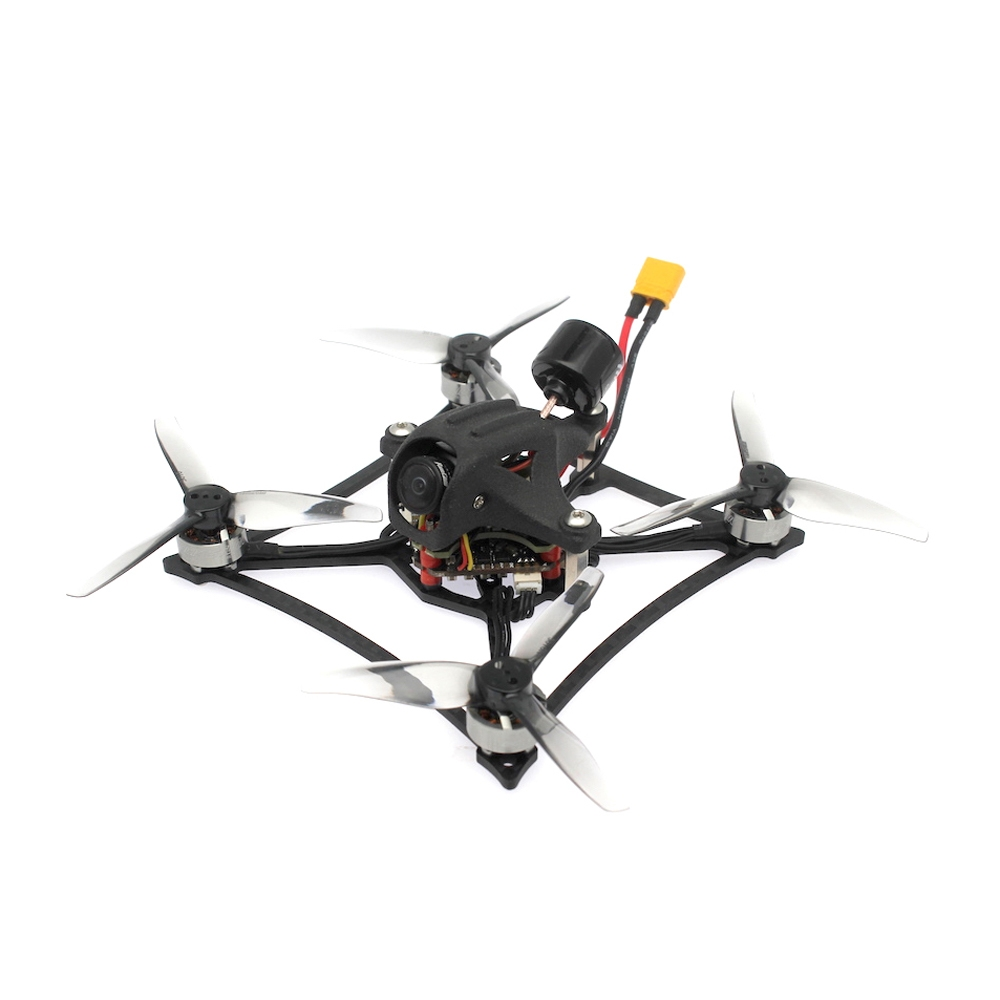 HBFPV RF3 120mm 3 Inch 2-3S Toothpick FreeStyle FPV Racing Drone PNP/BNF 1000mW VTX F4 FC OSD 20A ESC 1103 8000KV Motor