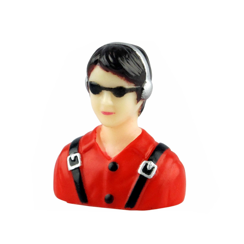 Doll Driver Jet Aircraft Pilot Model Spare Part for RC Airplane Model