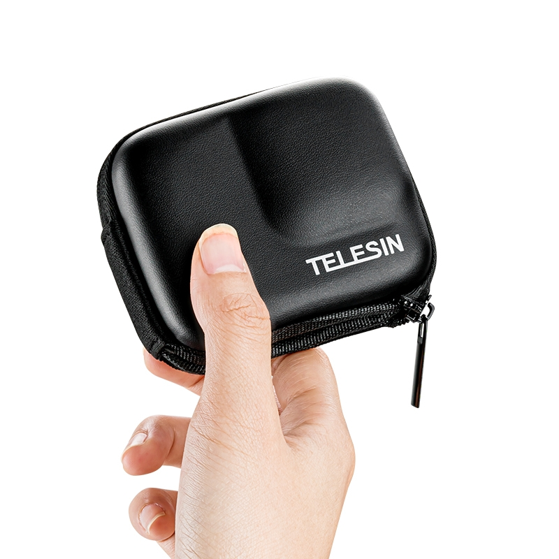 TELESIN Camera Bag Storage Protection Box Outdoor Sports Body Protection Bag for Insta360 One R 4K Camera