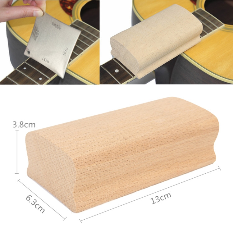 "15"" Radius Sanding Block For Guitar Bass Fret Leveling Fingerboard Luthier Tool"