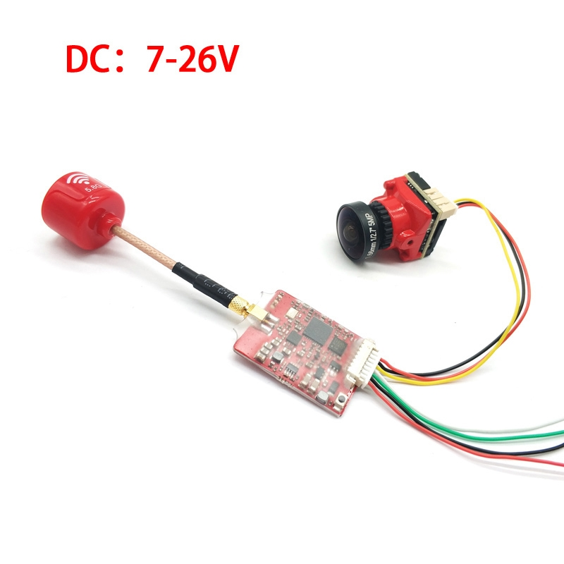 EWRF e708TM3Pro 5.8GHz 40CH 25/200/500/800mW Switchable FPV Transmitter and Starlight HDR 1200TVL Camera Combo for FPV Racing RC Drone