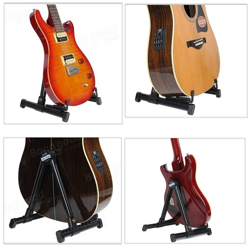 JOYO JGS-01 Guitar Stand Universal Folding For Acoustic Electric Guitars Guitar Floor Stand Holder
