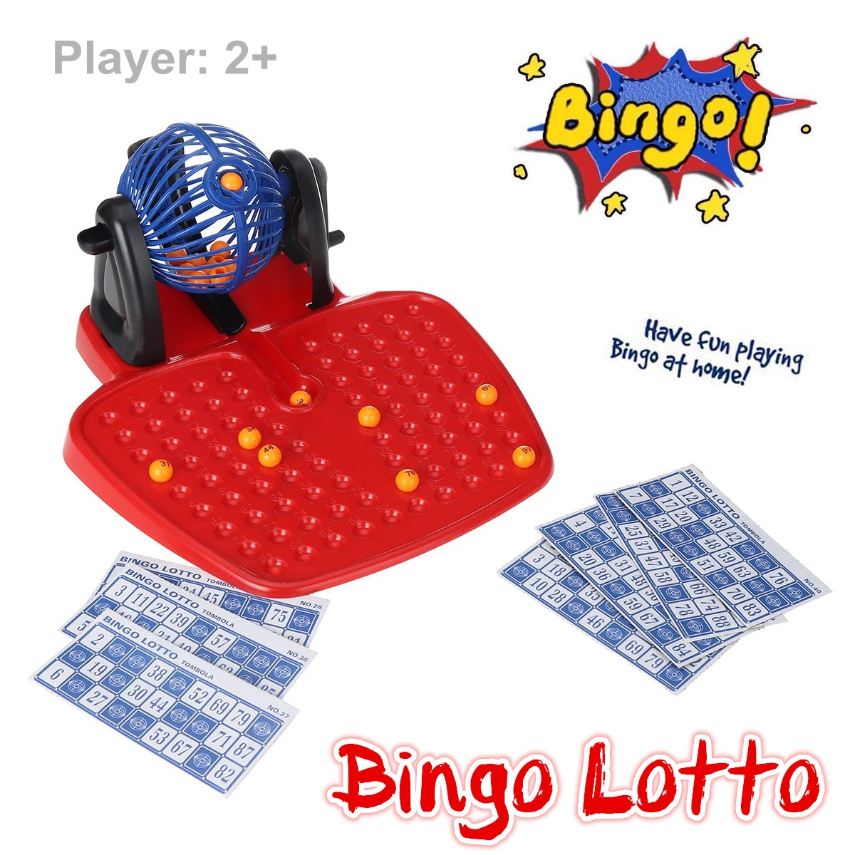 Lottery Machine Bingo Game Draw Machine Children's Puzzle Desktop Toys Parent-Child Interactive Toys