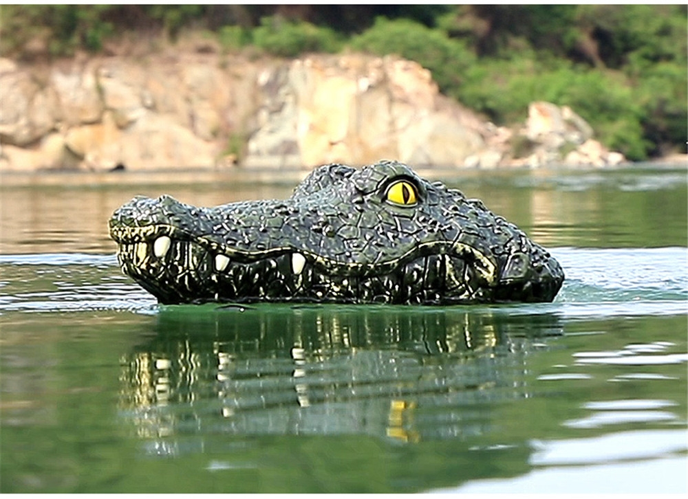 MX 0030 2.4G 4CH Electric RC Boat Simulation Crocodile Animal Vehicles RTR Model Toy