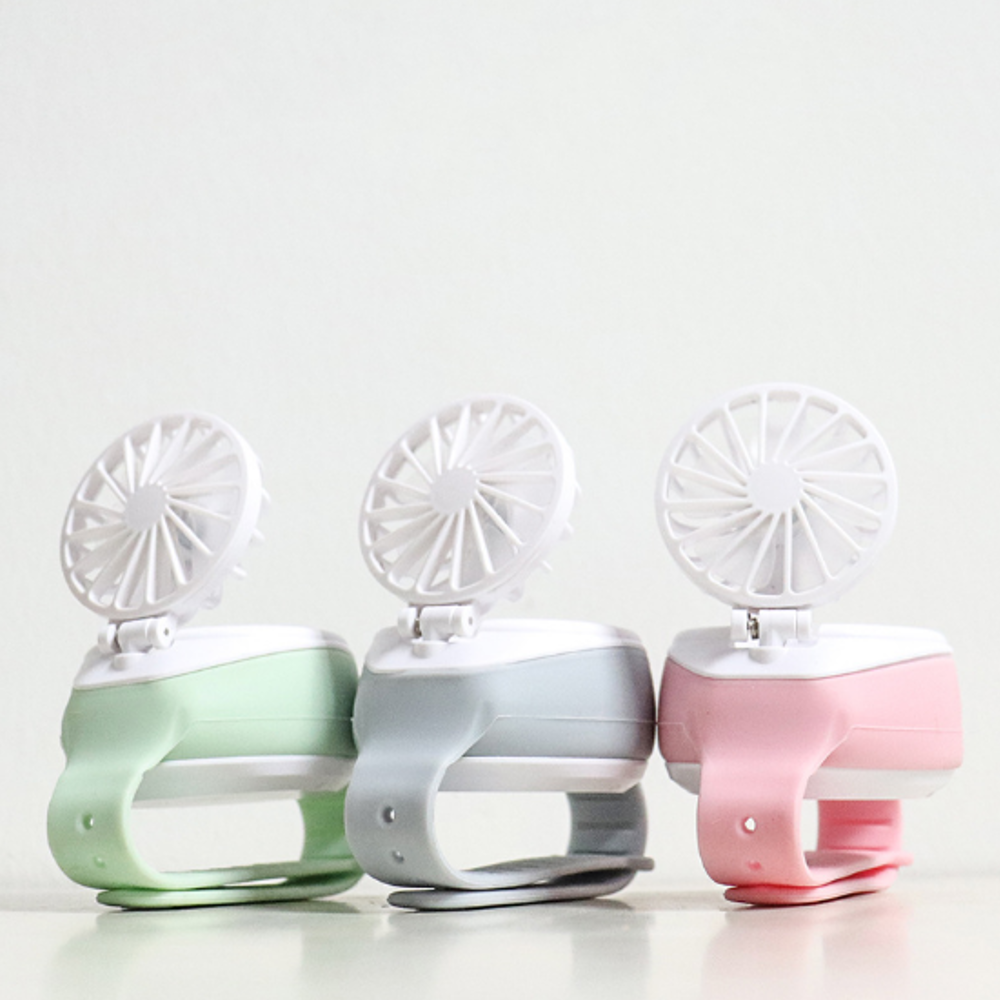 USB Charging Version Mini Watch Fan Lazy Fan Artifact Toys