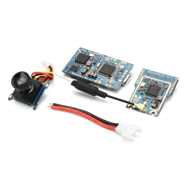 Scisky Micro 32bits F3 Brushed Flight Control Board Built-in Receiver with 25MW 40CH VTX&OSD Camera