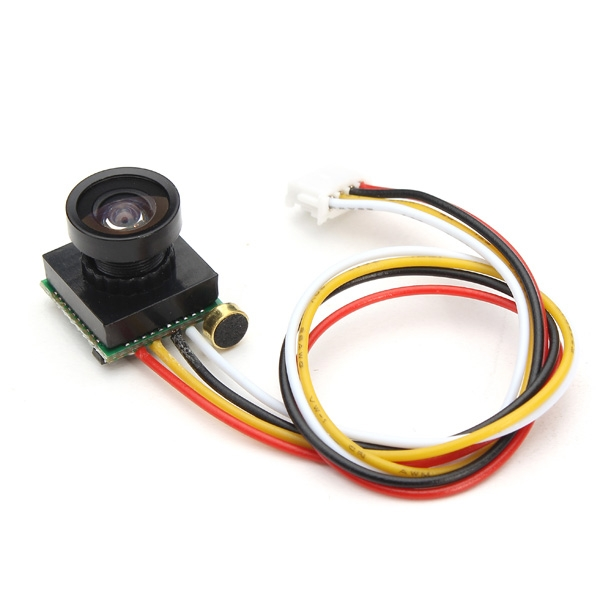 600TVL 100 Degree 1/4 Cmos 2.8mm Lens FPV Camera PAL/NTSC 3.3-5V
