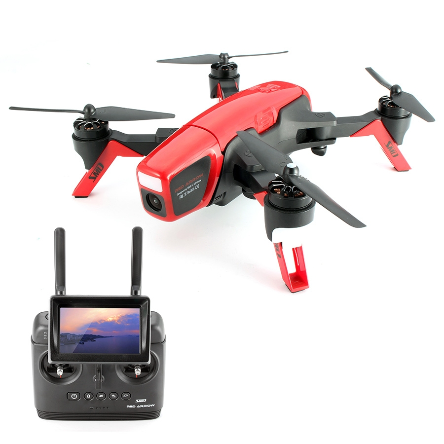 Smart Drone SMD Red Arrow Racing 5.8G FPV With 720P Camera 2.4G 8CH RC Quadcopter RTF