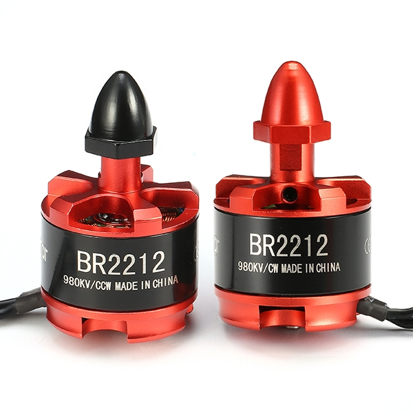 4X Racerstar Racing Edition 2212 BR2212 980KV 2-4S Brushless Motor For 350 380 400 Frame Kit