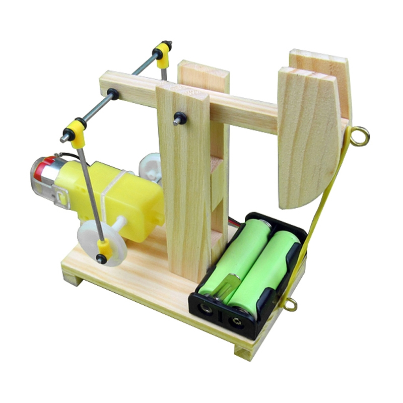 Puzzle Assembled Model Scientific technology DIY Material Kowtow Machine Pumping For Children
