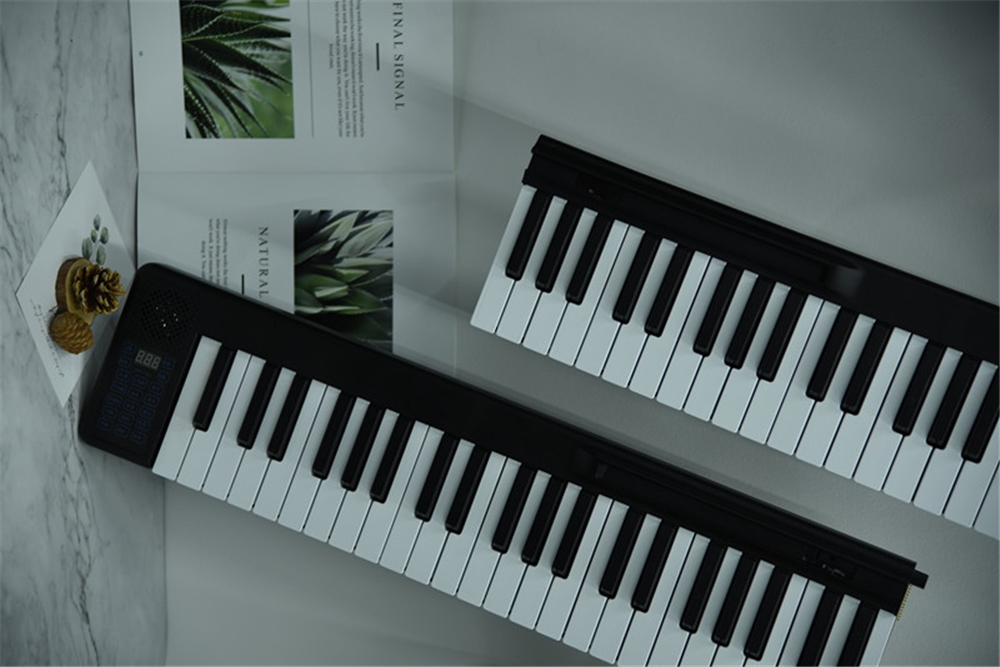 BORA 88 Keys Portable Splicing Piano Folding Electronic Keyboard Piano For Student Beginner