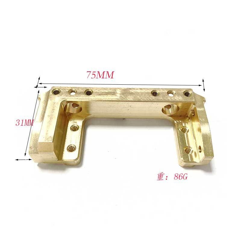 Second Generation Servo Bracket Metal Support Part For Axial Scx10Ⅱ 90046 90047 RC Car Parts