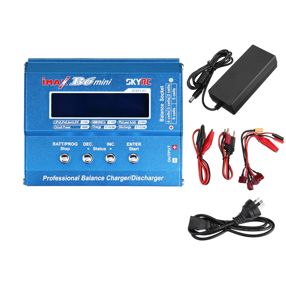 18% OFF for Original SKYRC IMAX B6 Mini 60W 6A Balance Charger