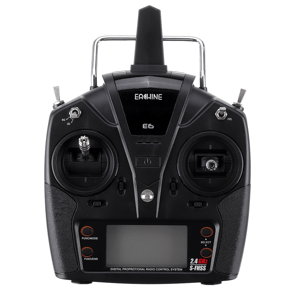 Eachine E160 RC Helicopter Spare Parts E6 Transmitter Compatible with FUTABA S-FHSS