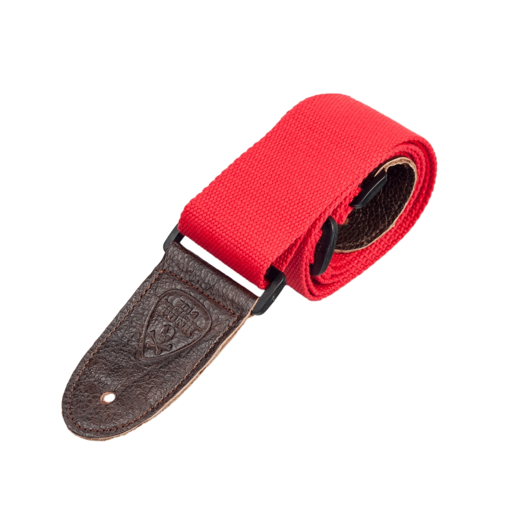 NAOMI Guitar Strap Guitar Accessories Adjustable Shoulder Strap Red Color Musical Instrument Accessories