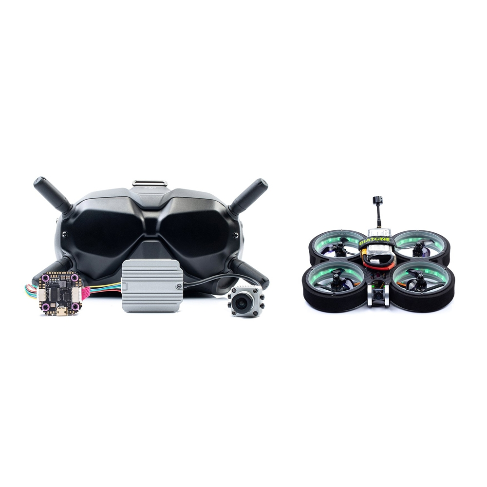 15% OFF for Diatone MXC TAYCAN 349 SW2812 LED DUCT 3 Inch 4S Freestyle CineWhoop FPV Racing Drone w/ DJI Air Unit & DJI Goggles Combo