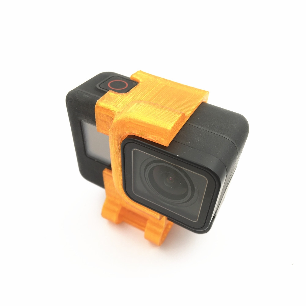 URUAV Shock-absorbing 3D Printed Mount for Gopro 5/6/7 Action Camera