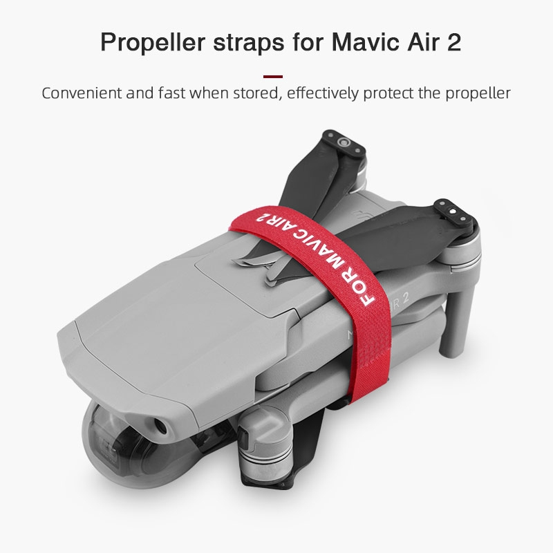 Propeller Fixed Holder Paddle Blade Stabilizer Protection Strap for DJI Mavic Air 2 RC Drone