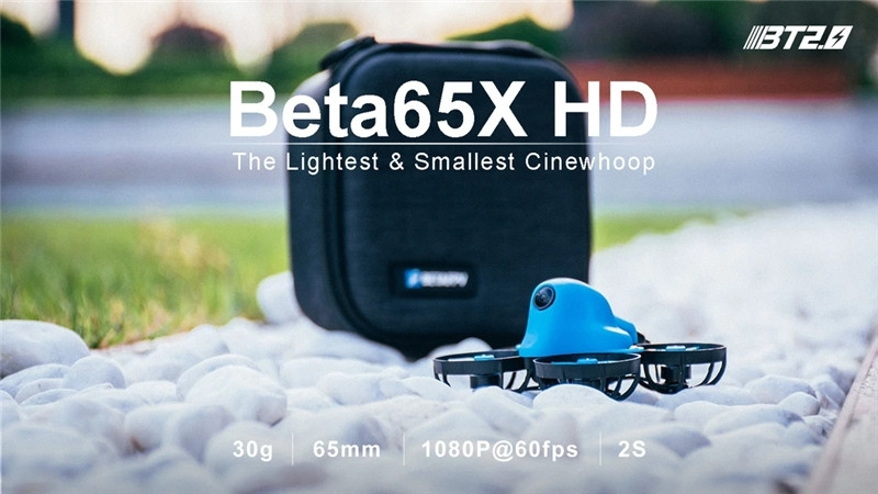 15% off for BETAFPV Beta65X HD 2S 65mm Whoop Quadcopter 1080P RC Drone F4 AIO 2S FC 0802 14000KV Motor 25mW VTX