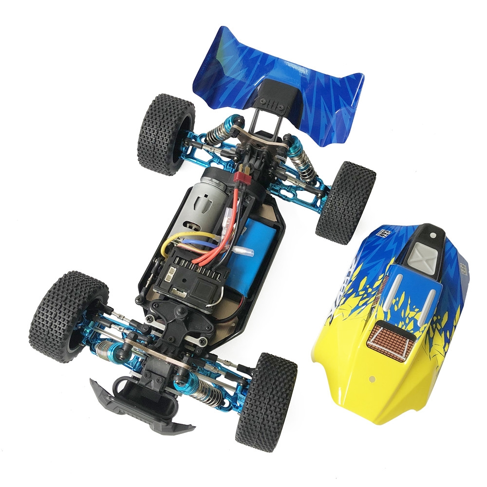 XLF F16 RTR 1/14 2.4G 4WD 60km/h Metal Chassis RC Car Full Proportional Vehicles Model