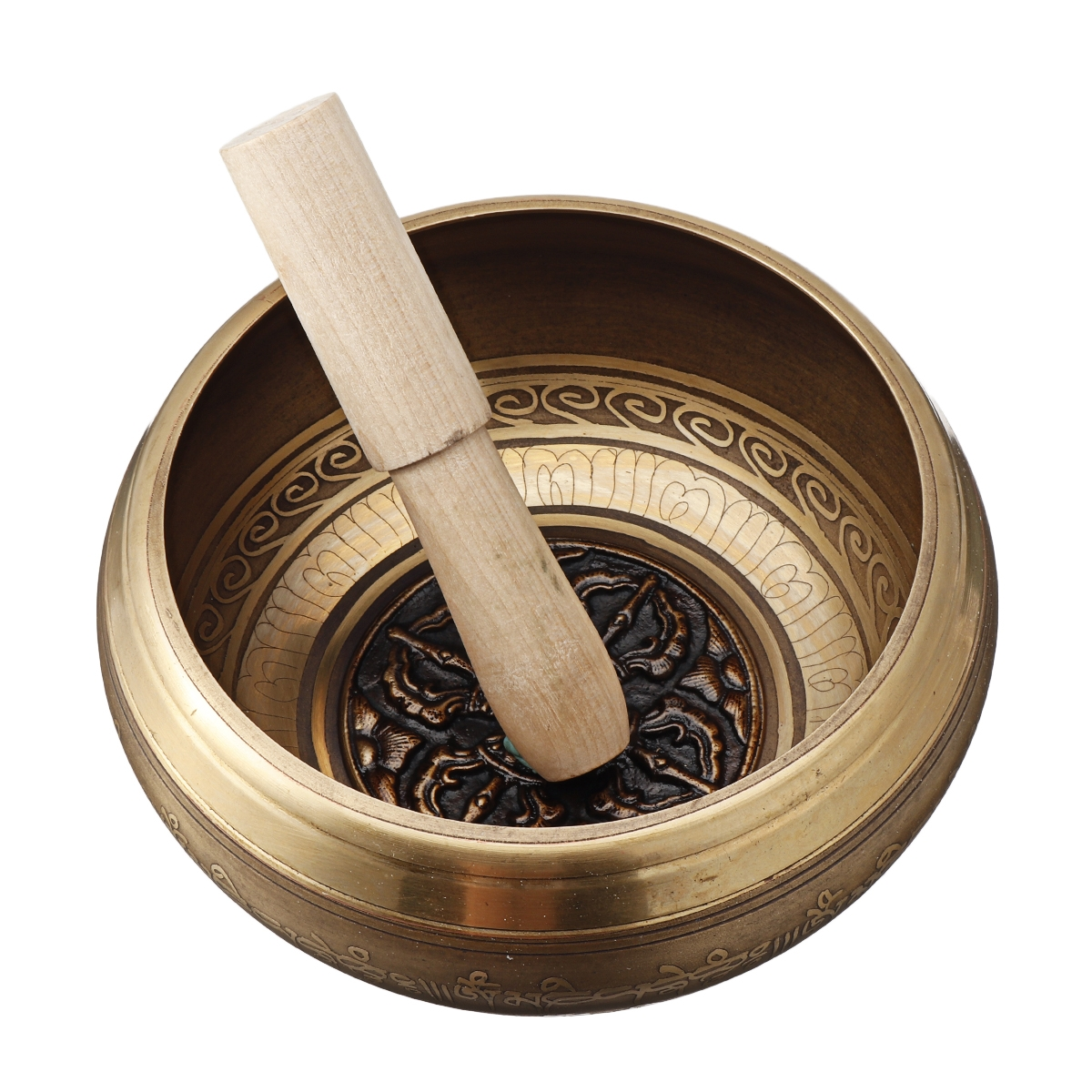 Tibetan Singing Bowl Set Sound Bowl Meditation Music Bowl for Meditation Yoga