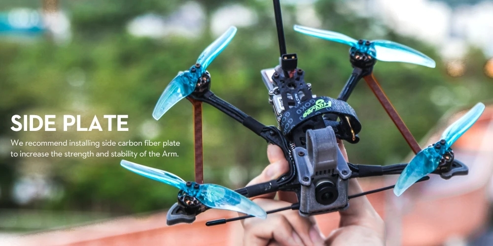 10% off for Flywoo Explorer LR HD 4'' 4S Micro Long Range FPV RC Drone Ultralight Quad w/ Caddx Vista HD System