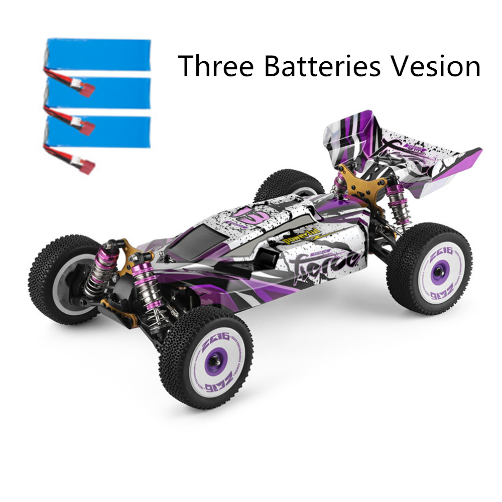 10% OFF for Wltoys 124019 Several Battery RTR 1/12 2.4G 4WD 60km/h Metal Chassis RC Car Vehicles Models Kids Toys