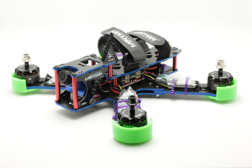 Lantian LTX-HEX4-215 215MM Carbon Fiber Mini Frame Kit  for FPV Racing