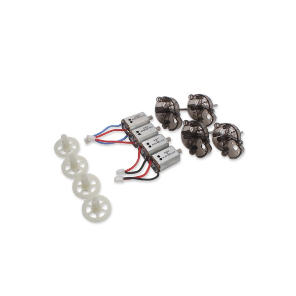 Syma X8C Quadcopter Motor Motor Gear Motor Base Combo