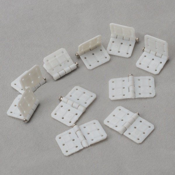 10Pcs Plastic Hinge 29x16mm For RC Airplane Aileron