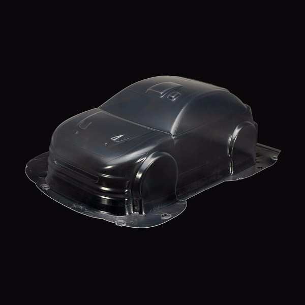 MK Racing Car Transparency Body Shell For 1/18 RC Cars Parts