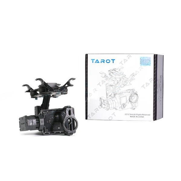 Tarot TL2D01 T2-2D 2 Axis Brushless Gimbal PTZ for Gopro 3 3+ 4 Sport Camera FPV