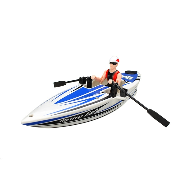 Great Wall 2311 2.4G RC Boat Canoeing Color Random