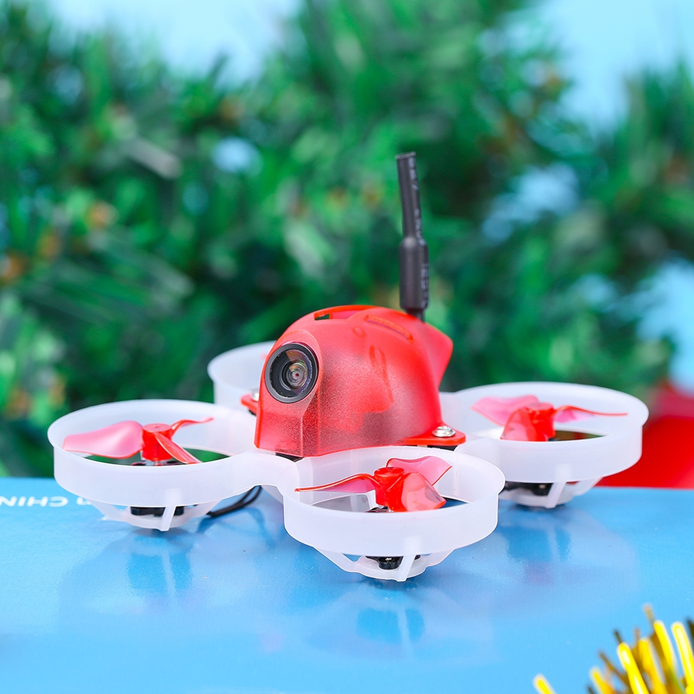 20% OFF for iFlight Alpha A65 Christmas Version 65mm 1S F4 AIO FC 5A ESC 48CH 25/50mW VTX Xmas Tiny Whoop RC Drone FPV Racing BNF w/800TVL Camera