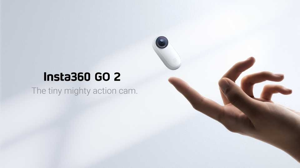 Insta360 GO 2 Thumb CAM 1440P 50FPS Vlog Anti-shake Waterproof Mini Action Camera Recorder Hands Free for FPV RC Drone