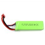 Original FEILUN 7.4V 2600mAh 30C LiPo Battery