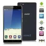 "UHAPPY UP580 Android 5.1 MT6580 Quad Cores 1.3GHz 6.0\"" Multi-touch screen 960*540 pixels RAM 1GB + ROM 8GB 8M (B camera) & 5M (F camera) 2500mAh GSM 850/900/1800/1900MHz WCDMA 850/2100MHz"