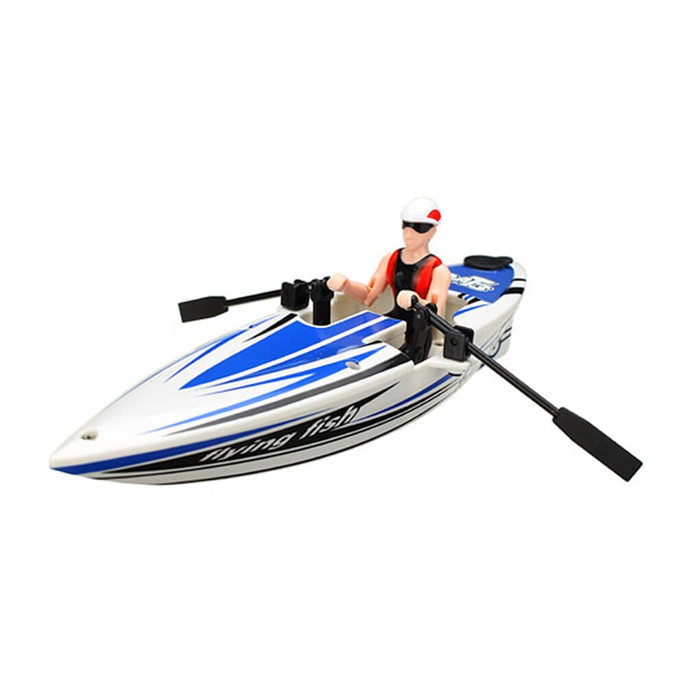 Great Wall 2311 2.4G RC Boat Canoeing Racing Boat - Random Color