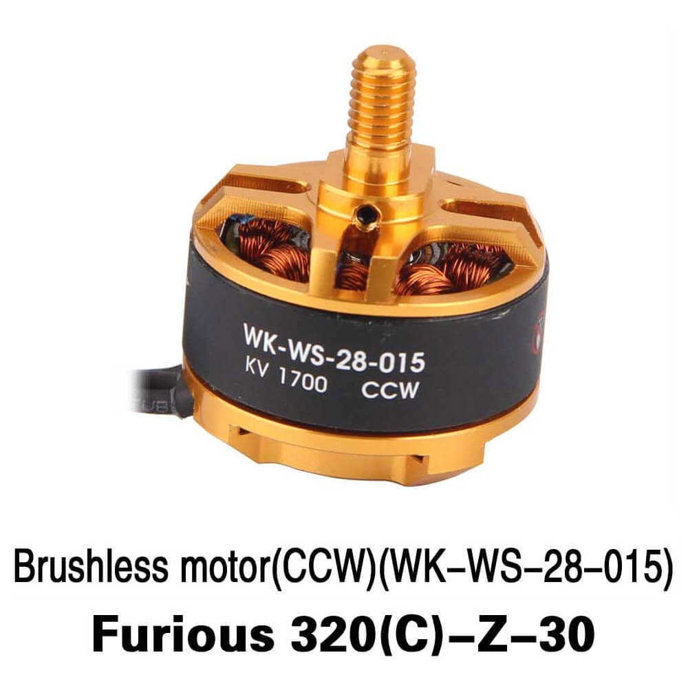 Walkera Furious 320 Spare Part CCW Brushless Motor WK-WS-28-015 Furious 320(C)-Z-30