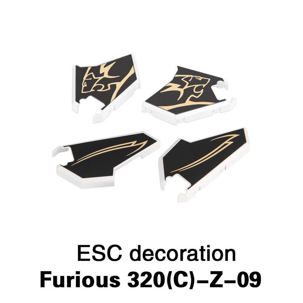 Extra ESC Decoration Block Set for Walkera Furious 320 320G Multicopter RC Drone