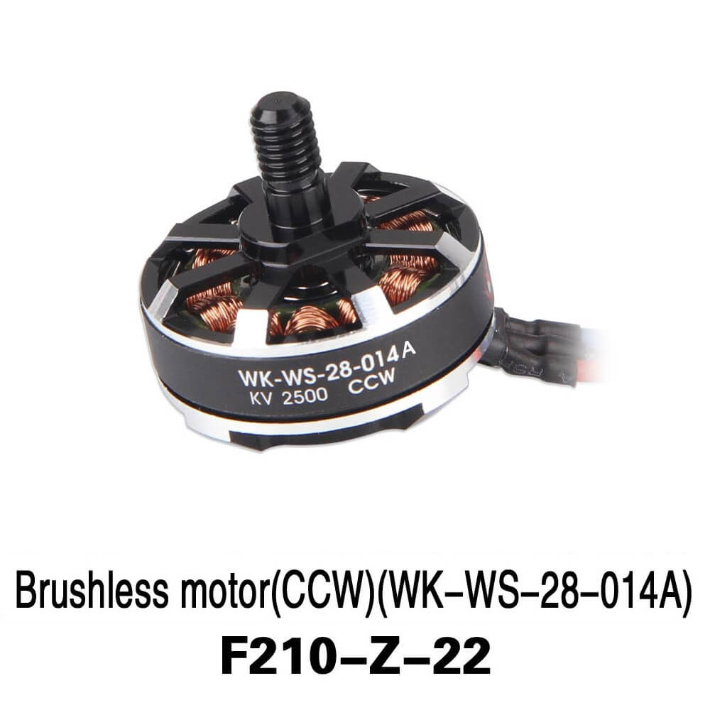 Walkera F210 Spare Part F210-Z-22 KV2500 CCW Brushless Motor WK-WS-28-014A