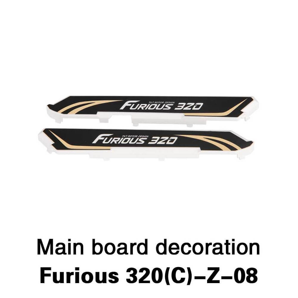 Spare Main Board Decoration Block Set Fitting for Walkera Furious 320 320G 320C RC Model