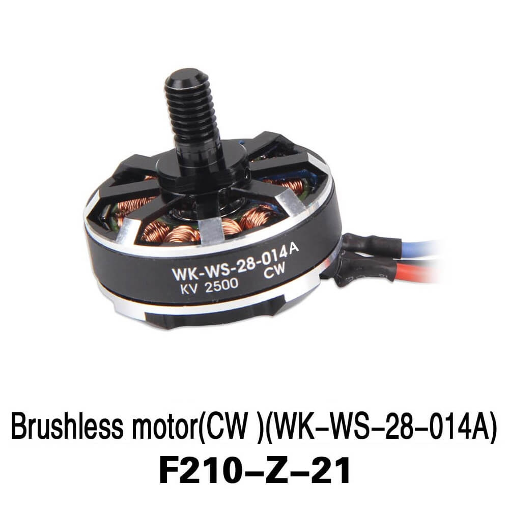 Walkera F210 Spare Part F210-Z-21 KV2500 CW Brushless Motor WK-WS-28-014A