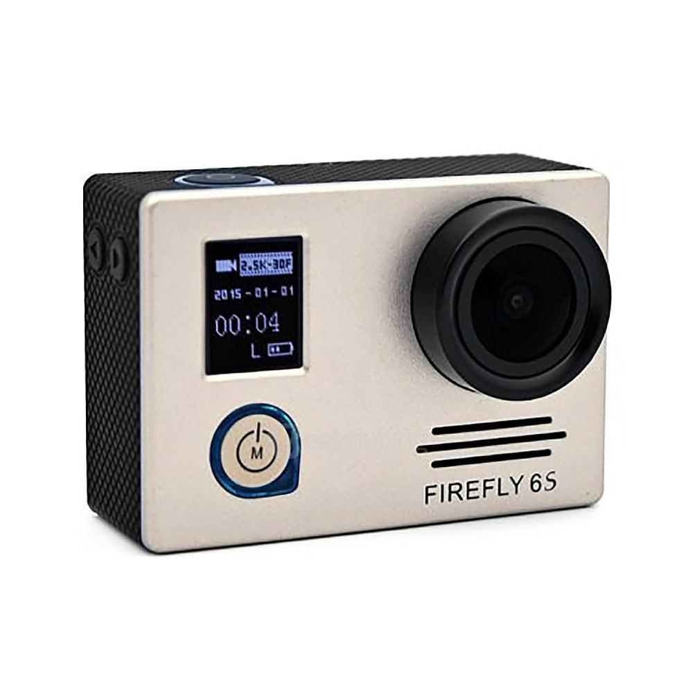 Hawkeye Firefly 6S 4K UHD DV SONY 16M CMOS WiFi Waterproof Sport Camera - Gold