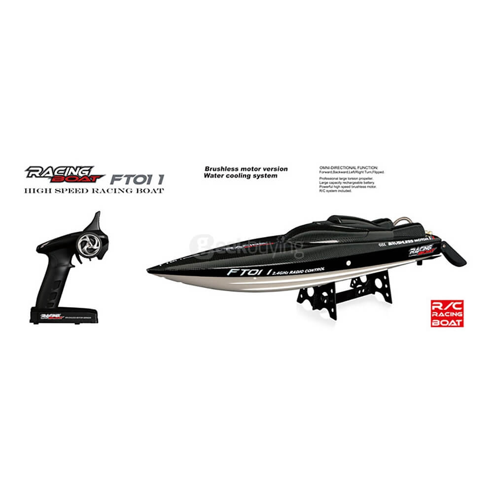 Feilun FT011 2.4G Brushless RC Boat 65CM High Speed Racing Boat With Water Cooling System