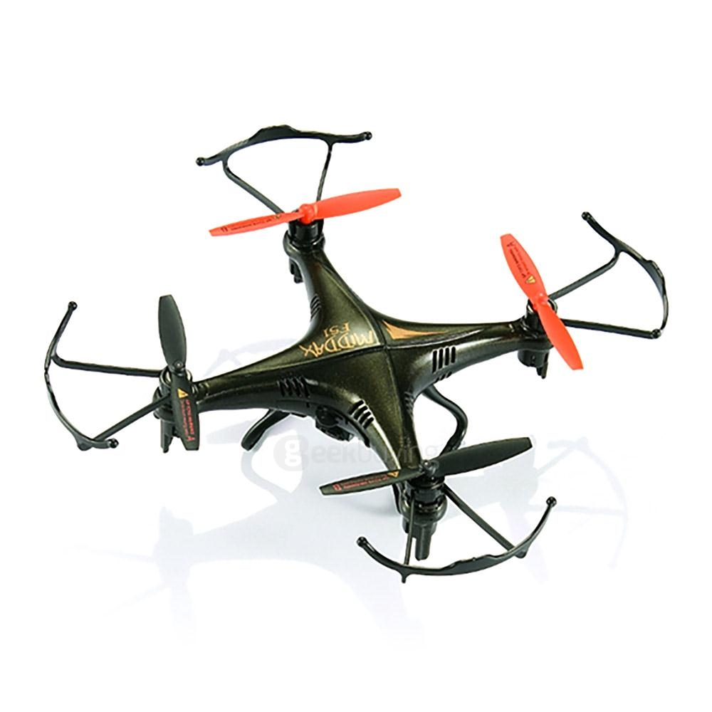 GPTOYS F51C 2.0MP Camera Waterproof 3D Flip 2.4G 4CH 6Axis Headless Mode RC Quadcopter RTF - Black