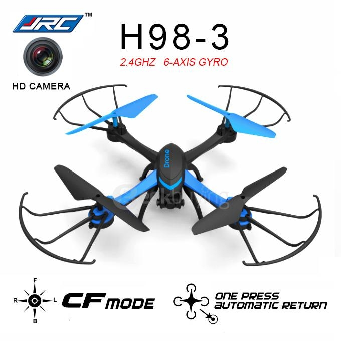 JJRC H98-3 0.3MP Camera 2.4G 6Axis 3D Flip One Key To Return CF Mode Rollover RC Quadcopter - Blue
