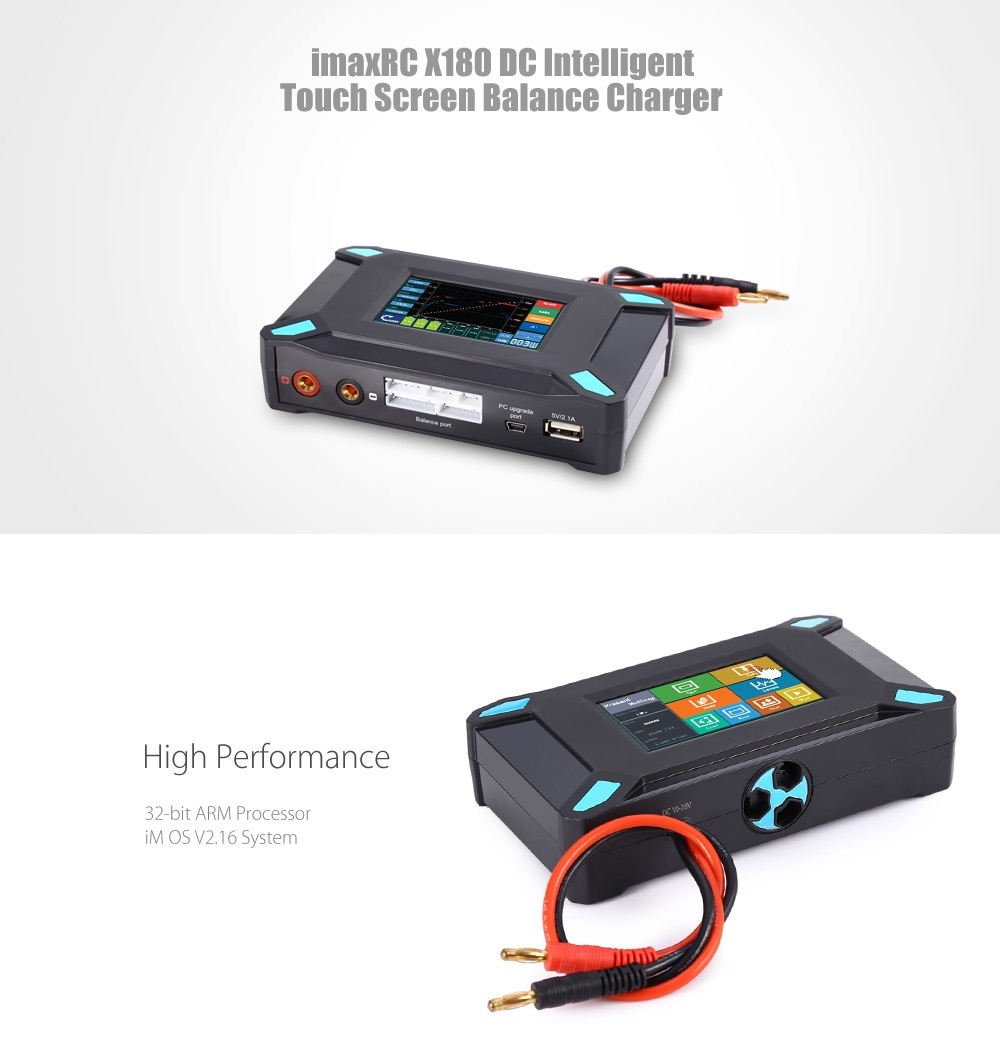 ImaxRC X180 DC Touch Screen Balance Charger