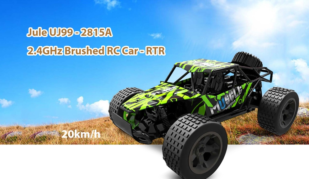Jule UJ99 - 2815A 2.4GHz 1:18 Brushed RC Car - RTR