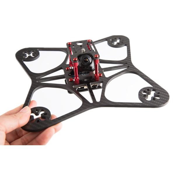 XS5 205mm 4mm Thichness 3K Carbon Fiber Frame Kit for FPV Racing